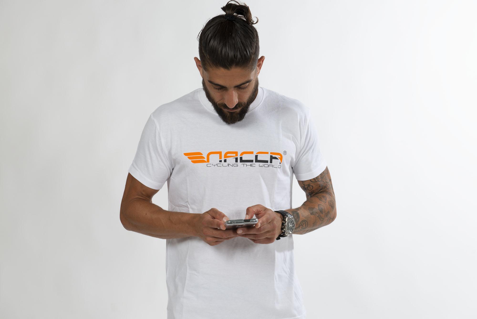 camiseta unisex sport nacca